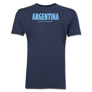 Argentina Powered by Passion T-Shirt (Navy)