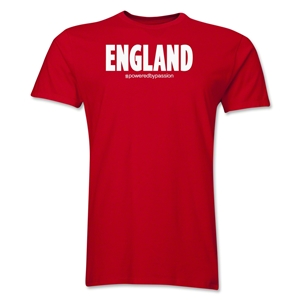 England Powered by Passion T-Shirt (Red)