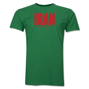 Iran Powered by Passion T-Shirt (Green)