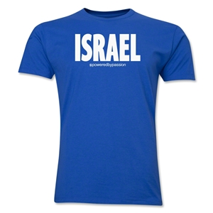 Israel Powered by Passion T-Shirt (Royal)
