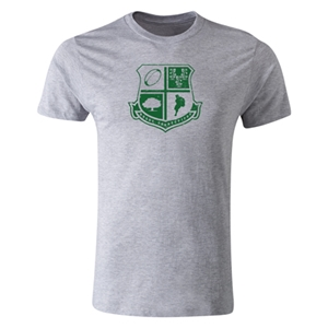 Rugby Connecticut Premium Shield T-Shirt (Grey)