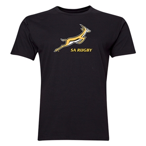 South Africa Springboks Men's T-Shirt (Black)