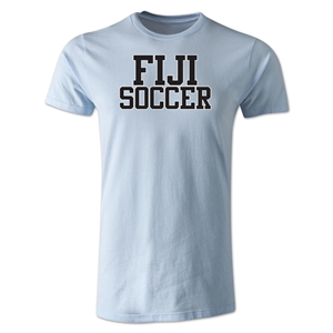 Fiji Soccer Supporter Men's Fashion T-Shirt