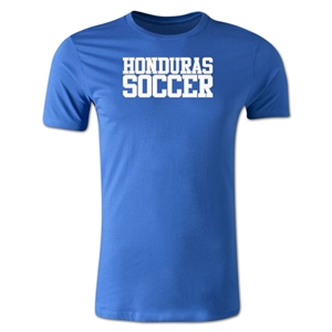 Honduras Soccer Supporter Men's Fashion T-Shirt (Royal)
