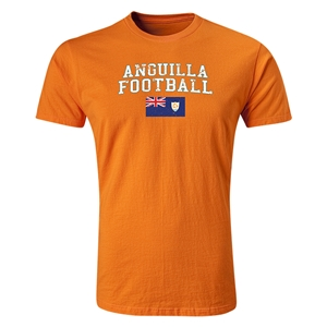 Anguilla Football T-Shirt (Orange)