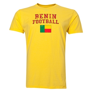 Benin Football T-Shirt (Yellow)