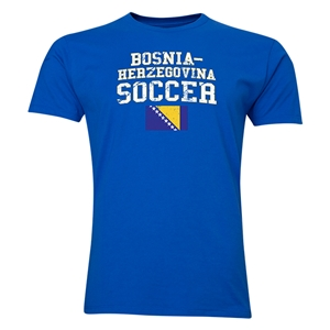 Bosnia-Herzegovina Soccer T-Shirt (Royal)
