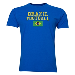 Brazil Football T-Shirt (Royal)