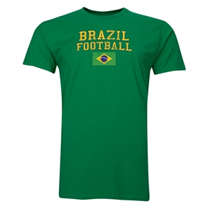 Brazil Football T-Shirt (Green)
