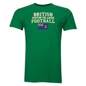 British Virgin Islands Football T-Shirt (Green)
