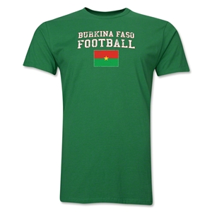 Burkina Faso Football T-Shirt (Green)