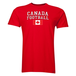Canada Football T-Shirt (Red)