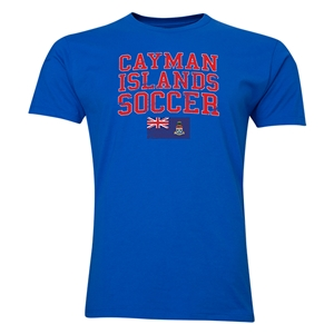 Cayman Islands Soccer T-Shirt (Royal)