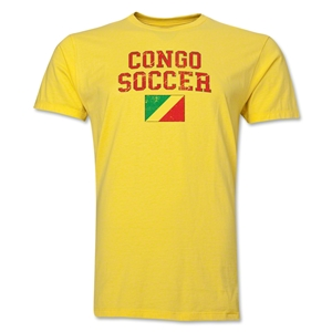 Congo Soccer T-Shirt (Yellow)