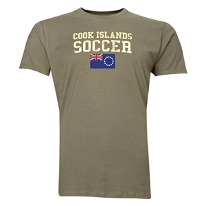 Cook Islands Soccer T-Shirt (Green)