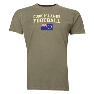 Cook Islands Football T-Shirt (Green)