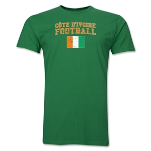 Cote d'Ivoire Football T-Shirt (Green)