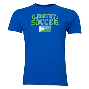 Djibouti Soccer T-Shirt (Royal)