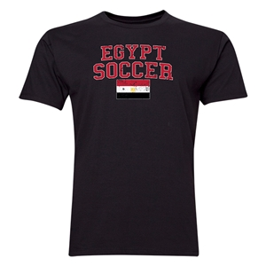 Egypt Soccer T-Shirt (Black)