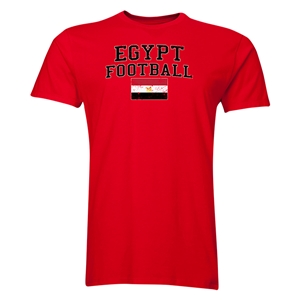 Egypt Football T-Shirt (Red)
