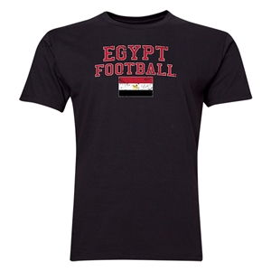 Egypt Football T-Shirt (Black)