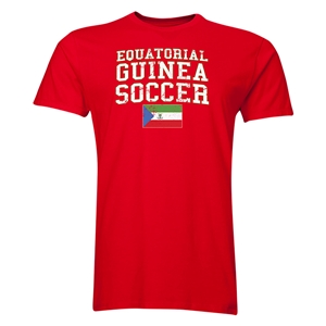 Equatorial Guinea Soccer T-Shirt (Red)