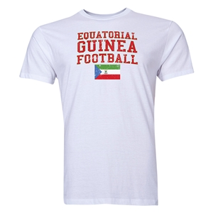 Equatorial Guinea Football T-Shirt (White)
