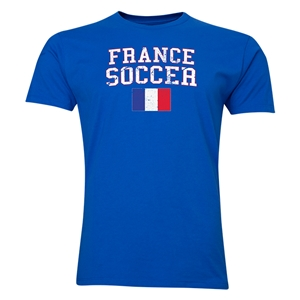 France Soccer T-Shirt (Royal)