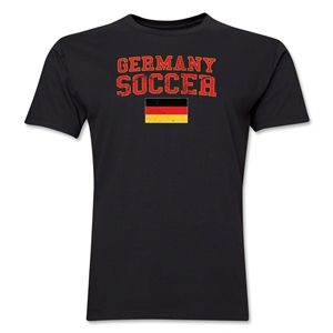 Germany Soccer T-Shirt (Black)