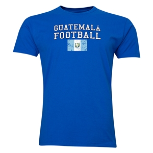 Guatemala Football T-Shirt (Royal)