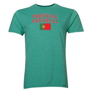 Portugal Football T-Shirt (Green)