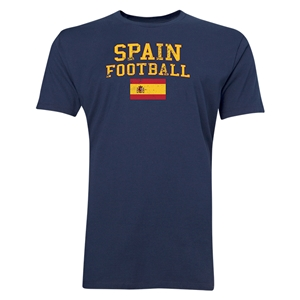 Spain Football T-Shirt (Navy)