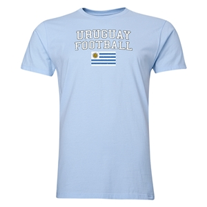 Uruguay Football T-Shirt (Sky)