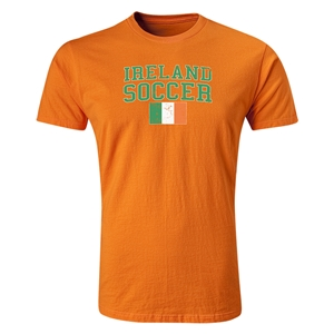 Ireland Soccer T-Shirt (Orange)