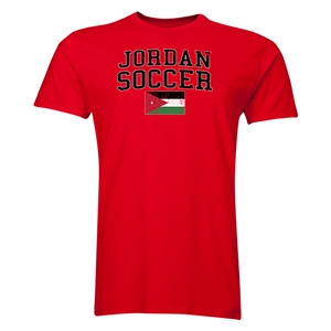 Jordan Soccer T-Shirt (Red)