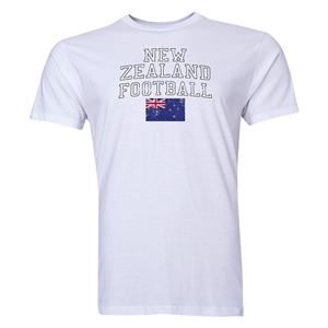 New Zealand Football T-Shirt (White)