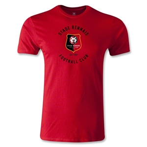 Stade Rennais FC Graphic Men's Fashion T-Shirt (Red)