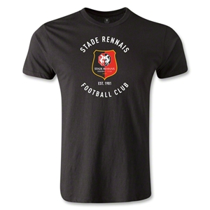 Stade Rennais FC Graphic Men's Fashion T-Shirt (Black)