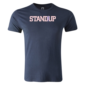 StandUp Logo Men's Fashion T-Shirt (Navy)
