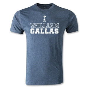 Tottenham William Gallas Distressed T-Shirt (Blue)