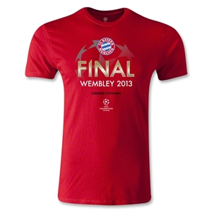UEFA Champions League 2013 Bayern Munich Final T-Shirt (Red)