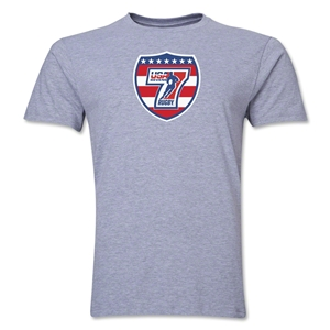 USA Sevens Rugby Premier T-Shirt (Gray)