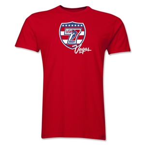 USA Sevens Vegas Rugby Premier T-Shirt (Red)