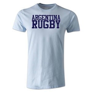Argentina Supporter Rugby T-Shirt (Sky)
