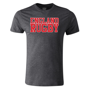 England Supporter Rugby T-Shirt (Dark Gray)