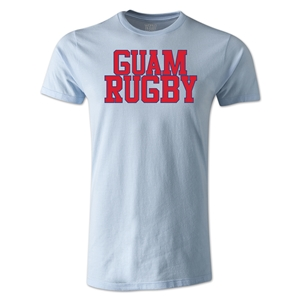 Guam Supporter Rugby T-Shirt (Sky)