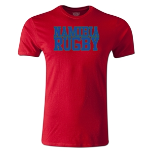 Namibia Supporter Rugby T-Shirt (Red)
