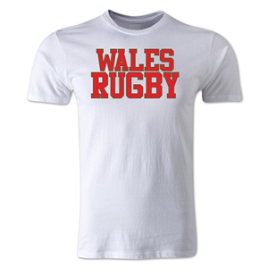 Wales Supporter Rugby T-Shirt (White)