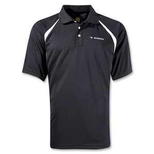 Diadora Roma Polo (Black)