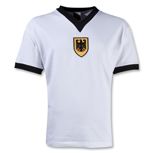 West Germany 1972 Home Soccer Jersey